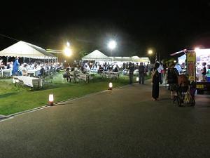 夜の岡崎公園