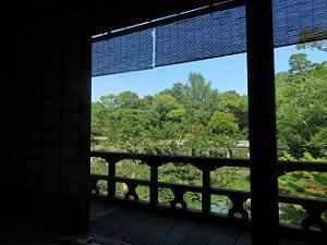 2階縁側からの眺め