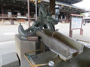 手水屋の龍