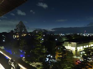 三門から眺める京都の夜景