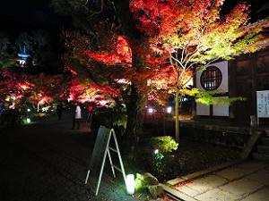 画仙堂と紅葉