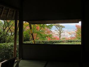 芭蕉庵からの眺め