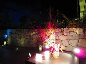 嵯峨嵐山文華館の活花