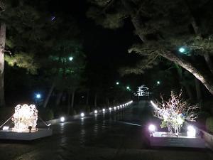 大谷祖廟の参道
