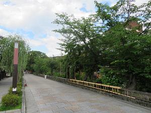 人が少ない祇園白川
