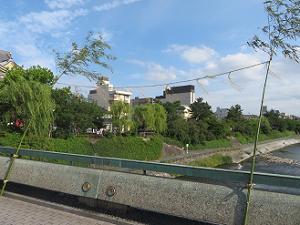四条大橋の斎竹