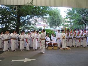 平成女鉾清音会の演奏