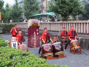 京都よかろう太鼓の演奏