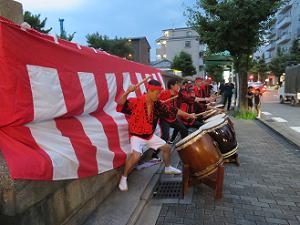 京都よかろう太鼓の最後の演奏