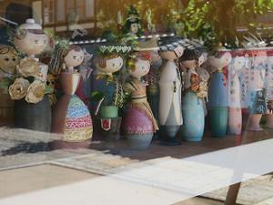 洋風の人形