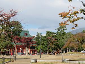 應天門と紅葉