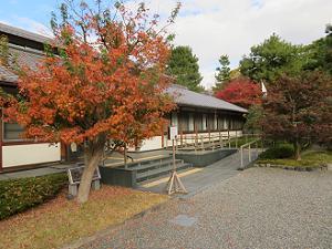 京都御苑管理事務所前の紅葉