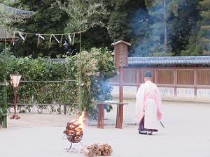 青山祭の始まり