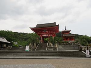 清水寺の入り口