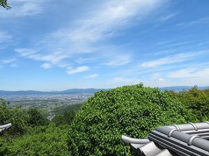 三鈷寺からの眺め