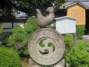 諫鼓鶏のの石灯籠