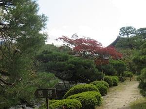 東神苑の入り口