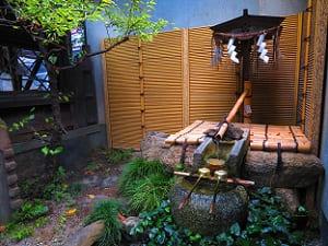 初湯の井戸