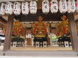 3基の神輿