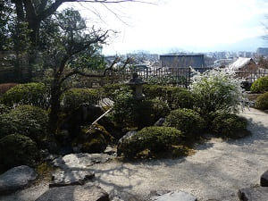 山亭からの眺め
