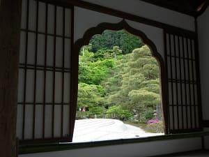 花頭窓から見る景色