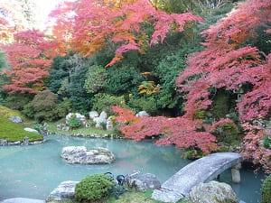 跨龍橋と紅葉
